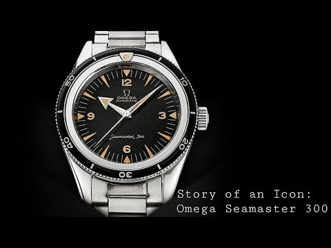 Story of an Icon: Omega Seamaster 300 History