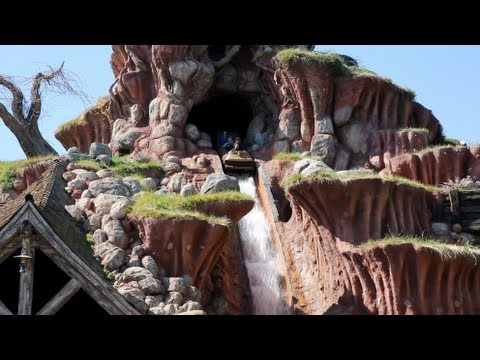 Splash Mountain (Full Ride : HD Front Seat POV) - Disneyland CA