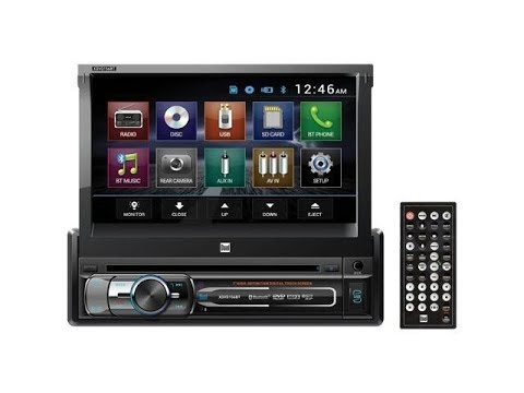 Dual Electronics XDVD156BT Flip Screen Car Stereo Installed In A 10th Generation Ford F-150