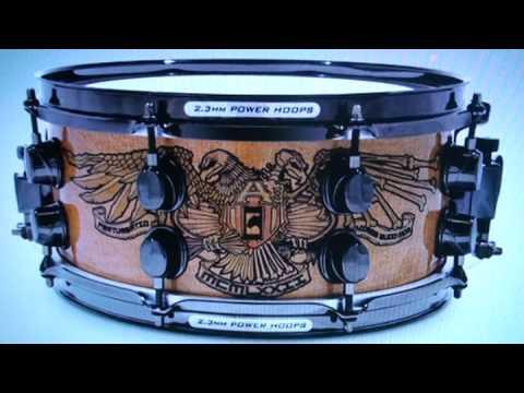 chris adler 39 s signature snare drum how it sounds youtube. Black Bedroom Furniture Sets. Home Design Ideas