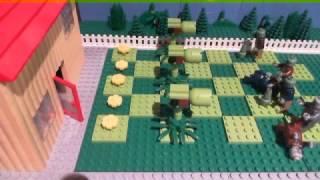 Kids Play Activity - Lego Motivation - Lego Plants Vs Zombies