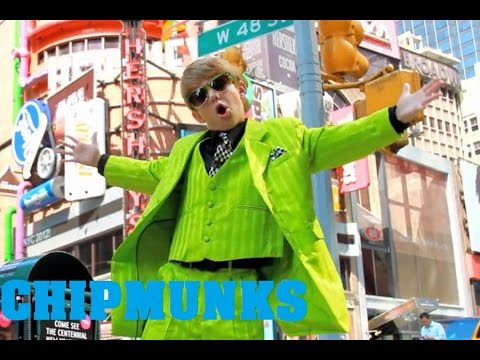 PSY  GANGNAM STYLE MattyBRaps  feat CimorelliChipmunks Version