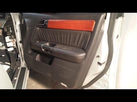 Remove FRONT Door Panel - Infiniti M45 M35