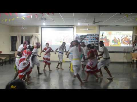 International Day of the World's Indigenous Peoples TISS TJP 2016 Central India Dance