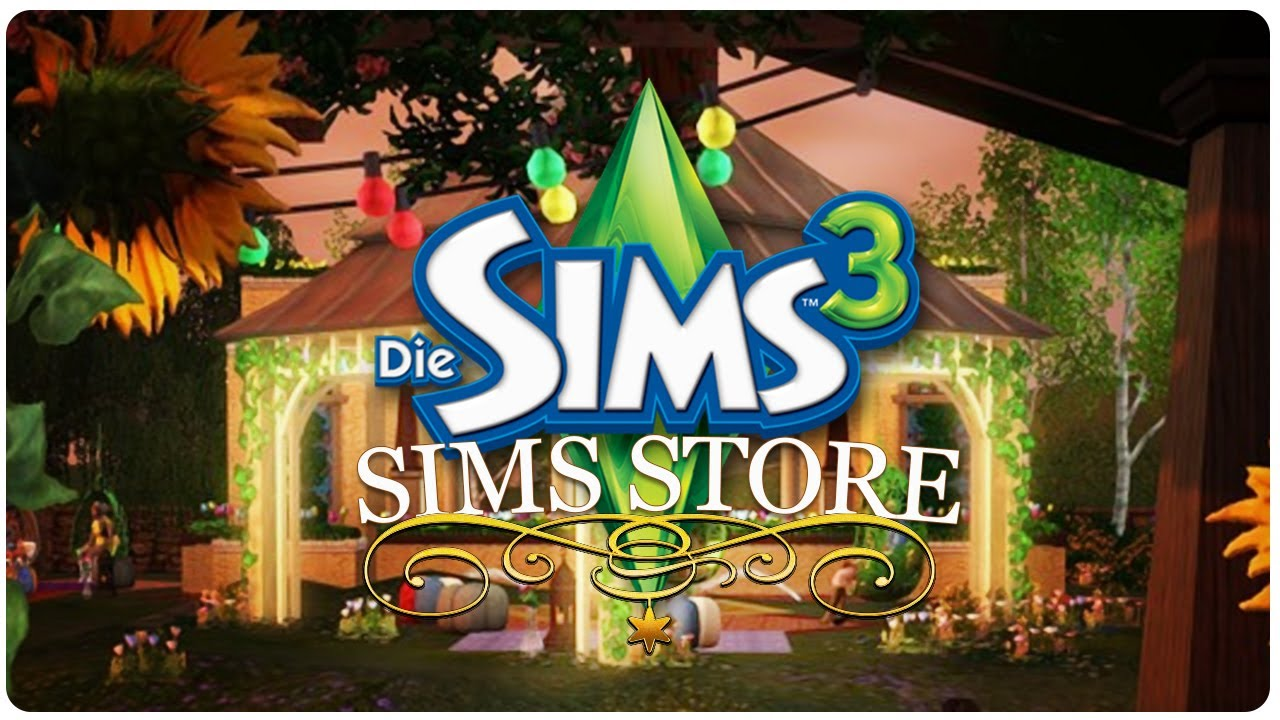 Boheme-Garten ★ Sims 3 Store Update - DIE SIMS 3 - YouTube