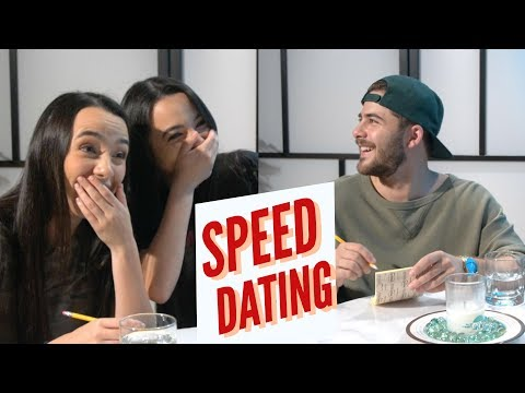 Speed Dating w/ Merrell Twins