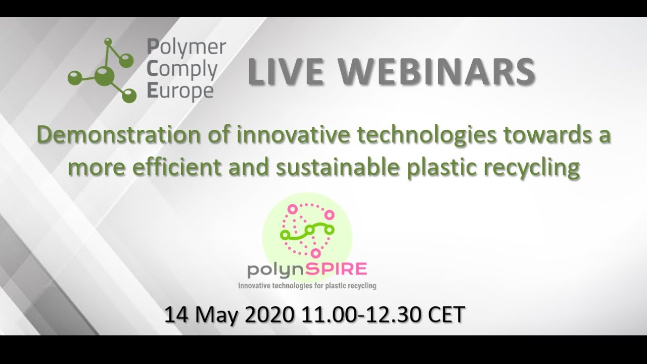 """Webinar on """"Demonstration of innovative technologies: The polynSPIRE Project"""" available online"""