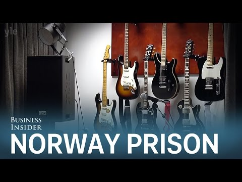 Inside Norway's luxurious maximum-security prison