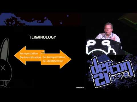 Defcon 21 - The Dark Arts of OSINT