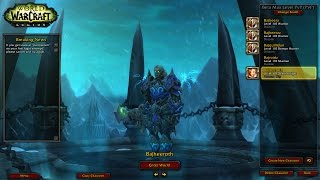 wow legion alpha level 110 unholy dk feral druid 2v2 arena legion death knight pvp