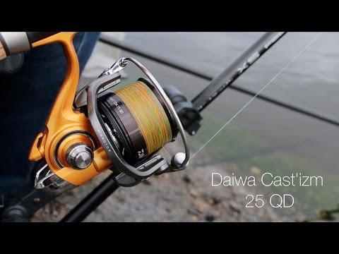 Обзор катушки Daiwa Cast'izm 25QD