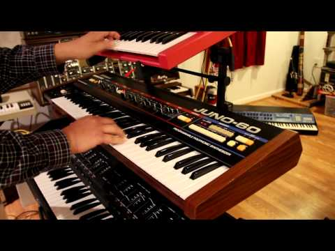 Valerie Dore style with Orchestrator, Juno60, LinnDrum and SH101