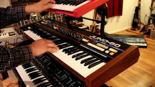 Valerie Dore style with Orchestrator, Juno-60, LinnDrum and SH-101