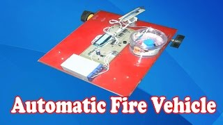 Electrical and Electronic Engineering Project │Automatic Fire Vehicle│