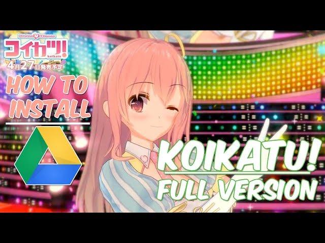 Free Download & Install Koikatu!/Koikatsu! (Google Drive/MEGA)