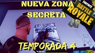 New Secret Zone!!! Is it a base? Season 4 l Fortnite l Señorío de la Sal l