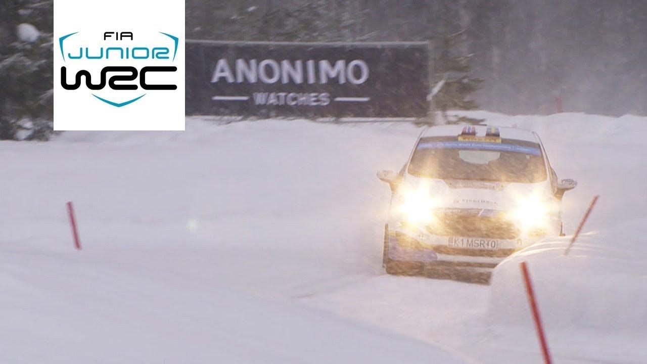 FIA Junior WRC - Rally Sweden 2018: HIGHLIGHTS Friday