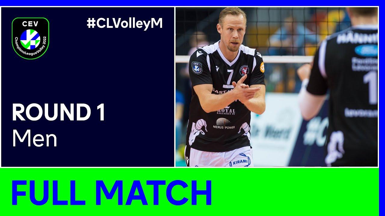 Ford Levoranta SASTAMALA vs. Draisma Dynamo APELDOORN - CEV Champions League Volley 2022 M | Round 1