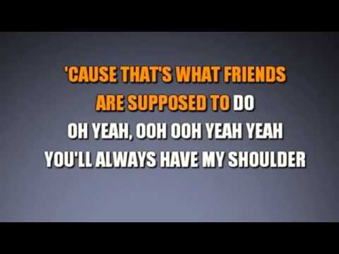 """Count On Me"" Song (karaoke Version)"