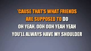 """Count On Me"" song (karaoke version)"