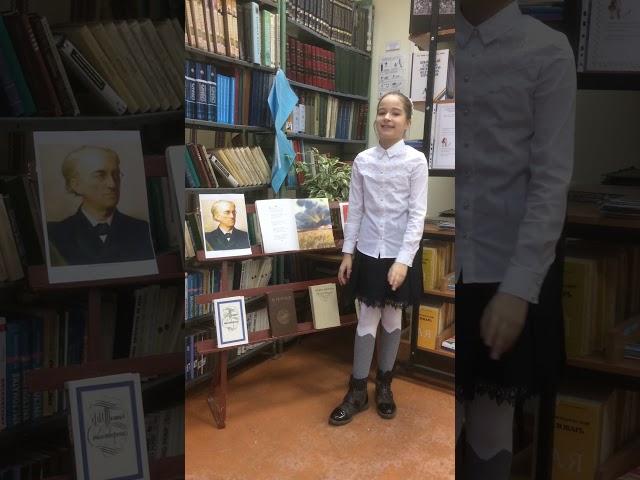 Изображение предпросмотра прочтения – АнастасияБогданова читает произведение «Чародейкою Зимою…» Ф.И.Тютчева