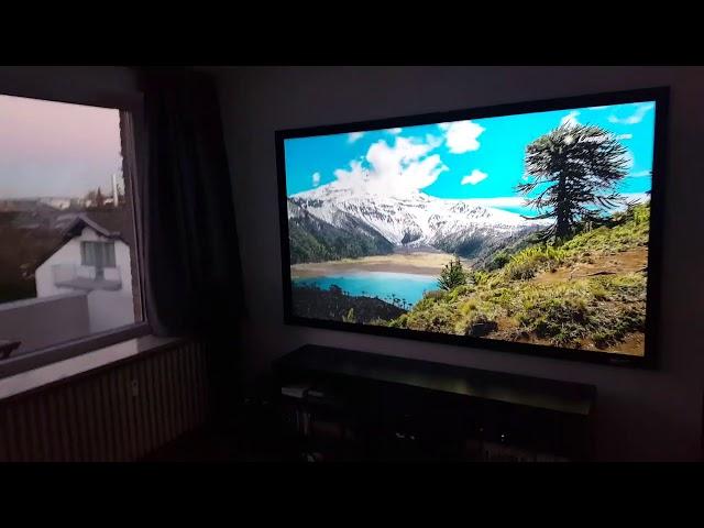 Elite Screens Sable Frame CineGrey® 3D ALR/CLR® Projection Screen Customer Testimonial