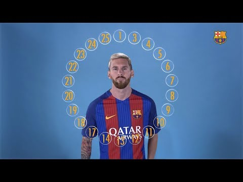 BARÇA EMOJIS: The squad define Leo Messi