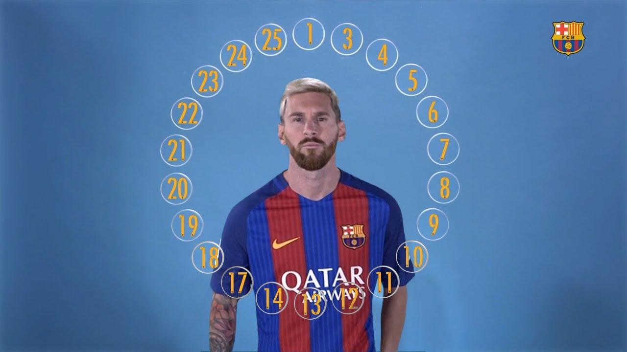 BARCA EMOJIS The Squad Define Leo Messi