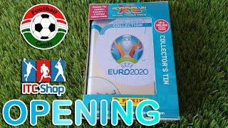 Panini Adrenalyn XL UEFA Euro 2020 Mini Fémdoboz Opening
