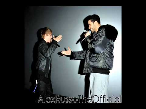 Drake and Justin Bieber singing