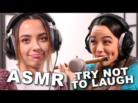 ASMR Try Not To Laugh Challenge - Merrell Twins