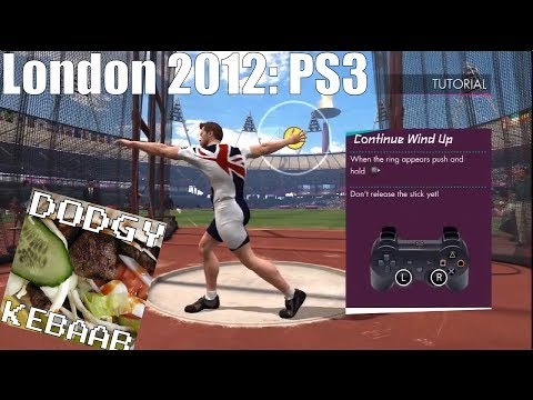 Let's Play:  London Olympics 2012 PS3 - Part 1