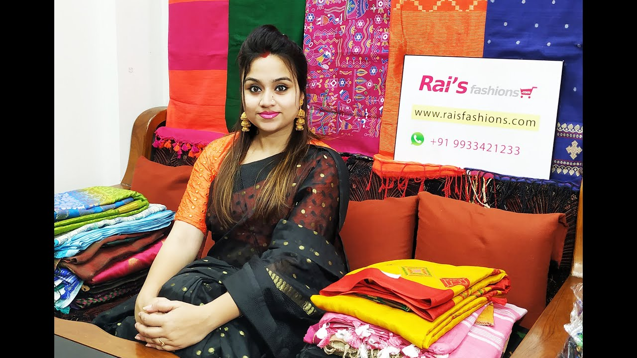 Exclusive Designer Handloom Sarees Collection From Rai S Fashions 23rd September 16p Youtube