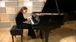Elina Akselrud plays Haydn Andante con Variazioni in f minor Hob.XVII:6