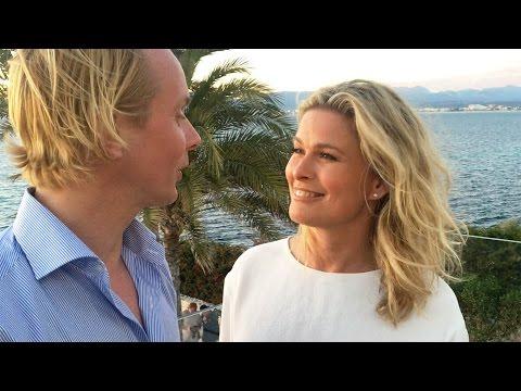 Petter Pilgaard og Vendela på ferie sammen på Mallorca