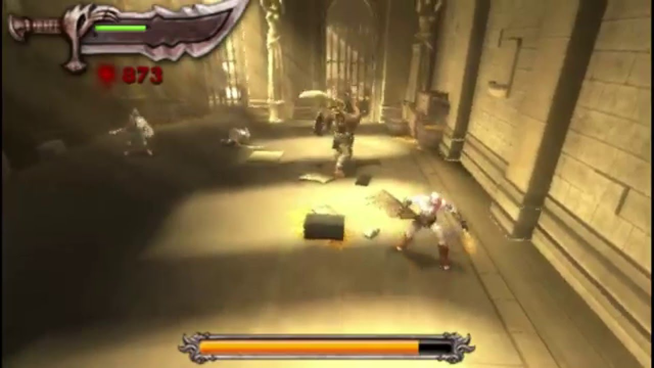 God of War: Chains of Olympus PSP Gameplay - YouTube