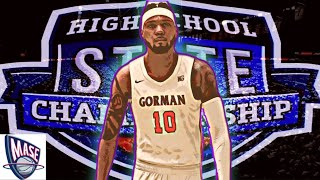 STATE CHIP GAME| PROBLEM CHILD GOES CRAZY| NBA2K21 HIGH SCHOOL HOOPS| MYNBA PS5 GAMEPLAY