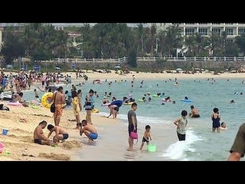 Пляжи Саньи Курорты Санья Китай