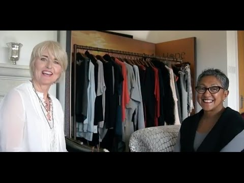 Fashion Haul - watch HOPE founder give 70+ lady style makeover