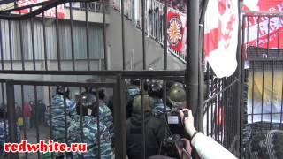Арсенал - Спартак, беспорядки