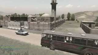 Waki Taki: The Bus Ride Pt. 1/2 - Takistan Life ArmA 2 Mod (1080p)