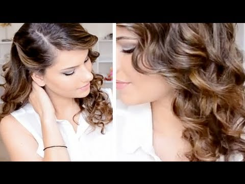 Romantic Ringlet Curls Hair Style YouTube - Hairstyle ringlets curls
