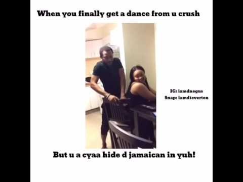 Jamaican daggering - YouTube
