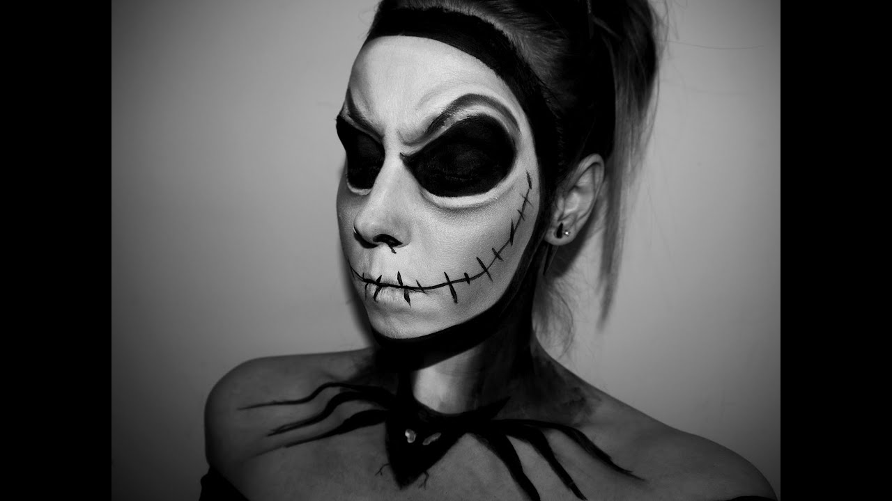 how to make white makeup for halloween