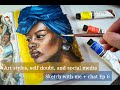 Finding my art style and self doubt - Sketch with me Ep. 6