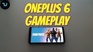 Best Gaming smartphone? OnePlus 6 Fortnite Gameplay EPIC Mode 30 FPS Snapdragon 845