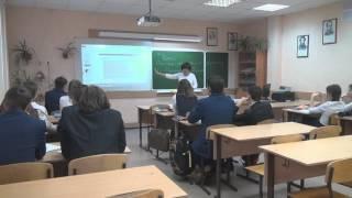 Видеоурок русского языка в 10-м классе
