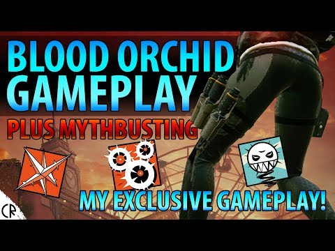 Blood Orchid DLC Gameplay & Mythbusting - Ela, Ying & Lesion - Rainbow Six Siege - R6