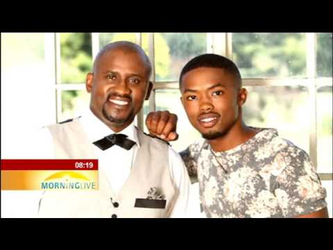 Talking fatherhood with Ringo Madlingozi, son