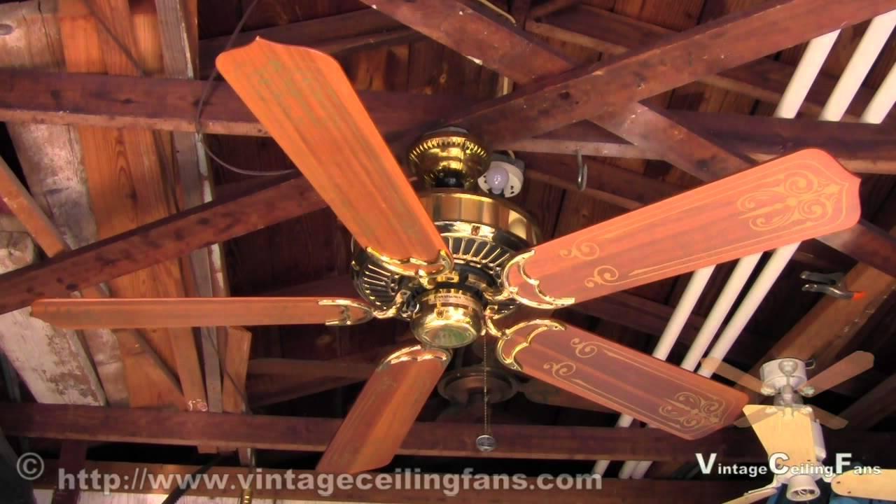 Casablanca Panama 5 Brass Ceiling Fan Feb 1983